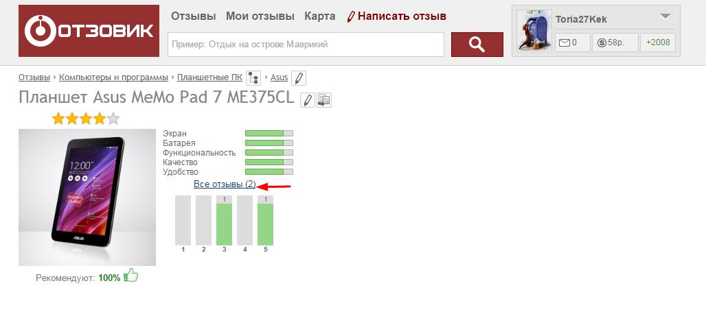 Сайт платных отзывов- otzovik.com